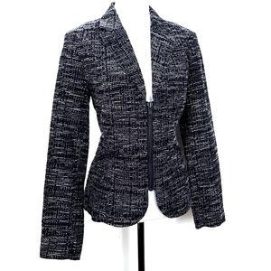 Cabi Midnight Mingle Textured Tweed Blazer